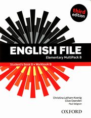 ksiazka tytuł: English File Elementary Multipack B Student's Book B Workbook B autor: