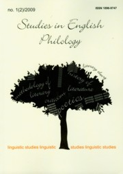 Studies in English Philology 1(2)/2009,