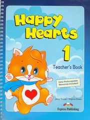 ksiazka tytuł: Happy Hearts 1 Teacher's Book autor: Dooley Jenny, Evans Virginia