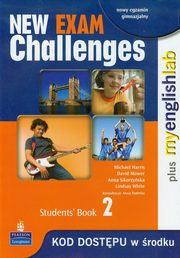 New Exam Challenges 2 Student's Book + MyEnglishLab, Harris Michael, Mower David, Sikorzyńska Anna